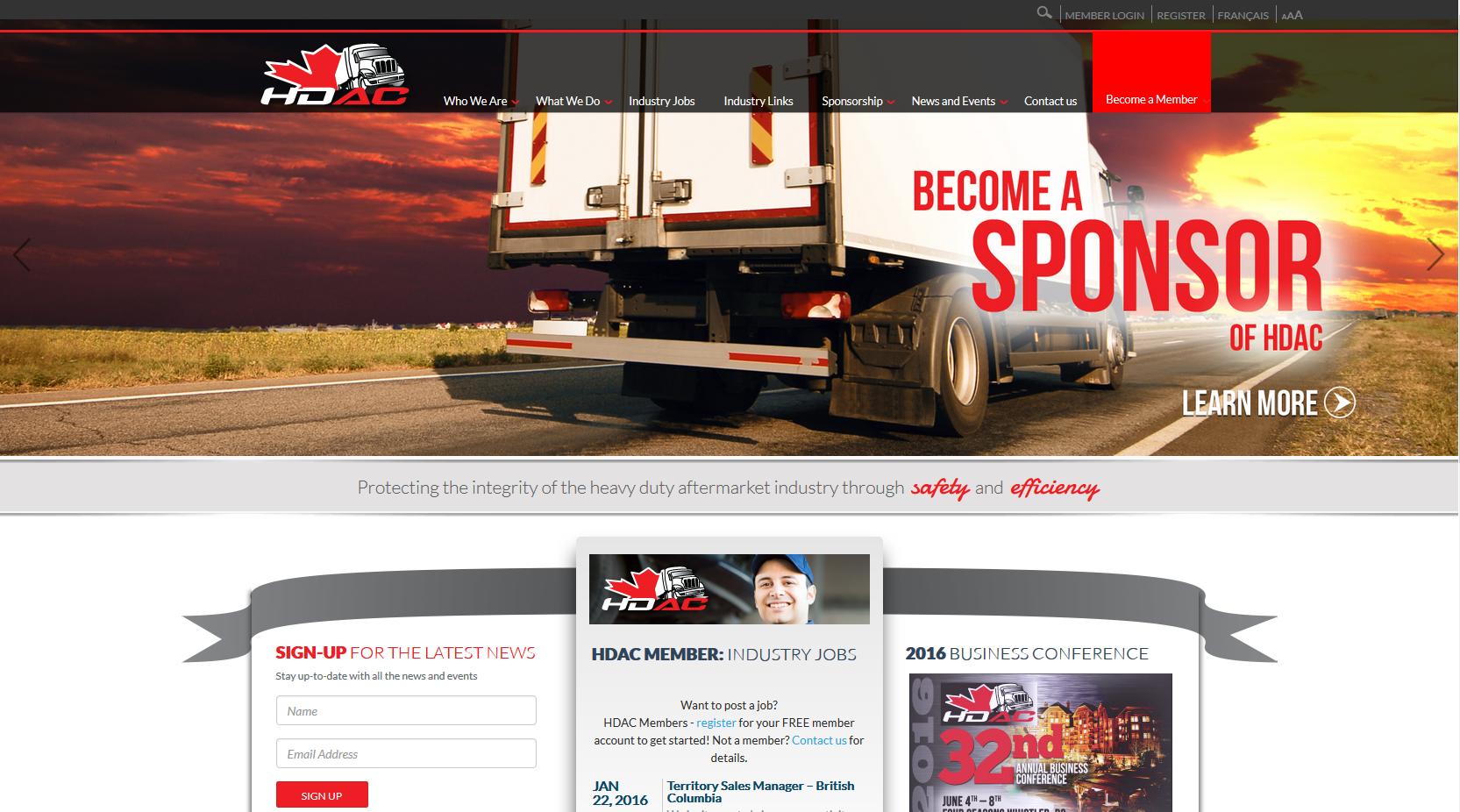 Heavy Duty Aftermarket Canada (HDAC)